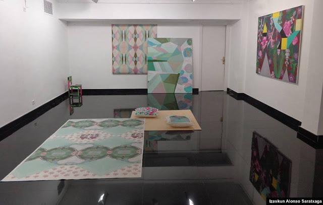 Exposición en Barakaldo de Izaskun Alonso Saratxaga