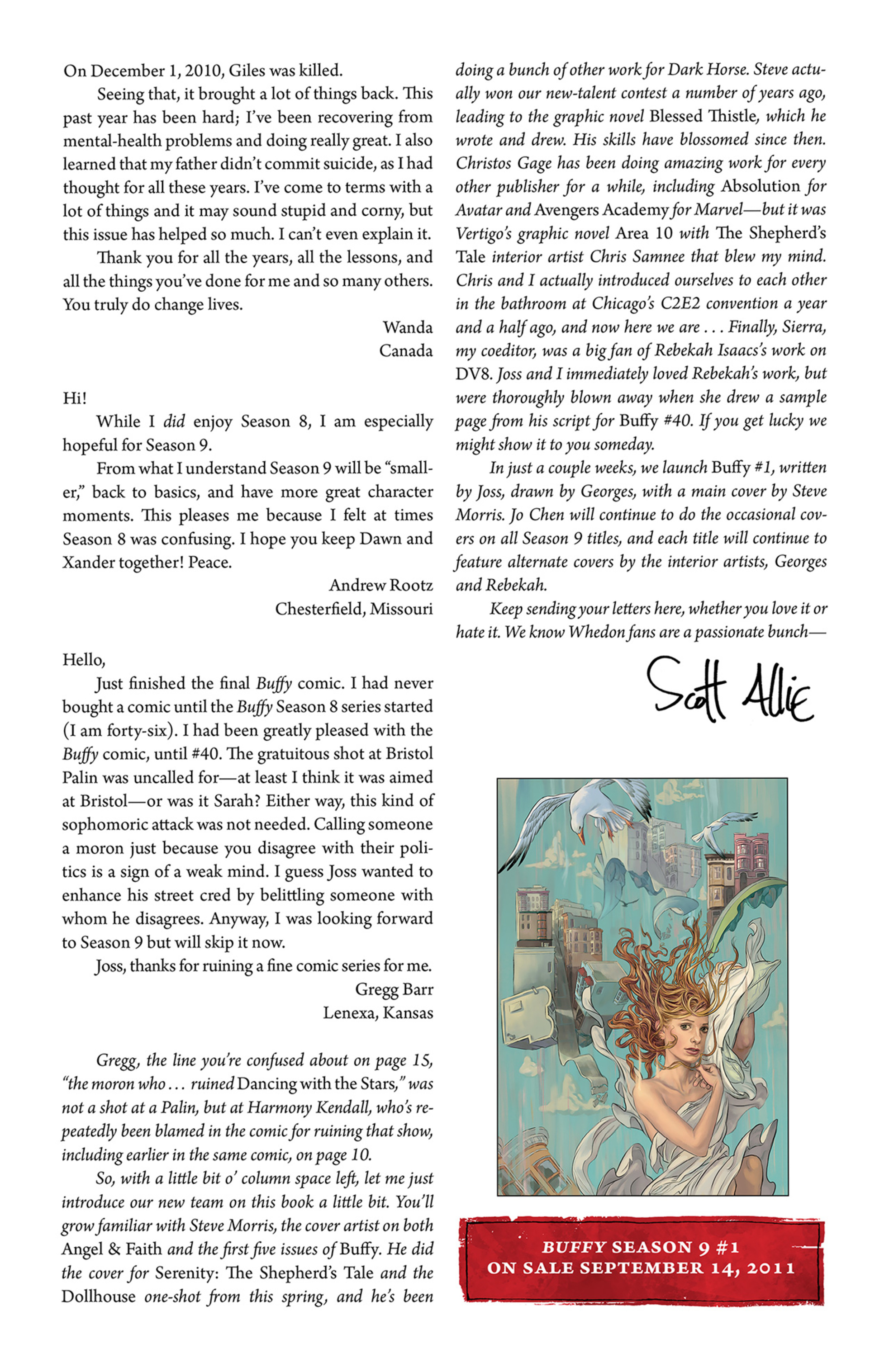 Read online Angel and Faith comic -  Issue #1 - 28