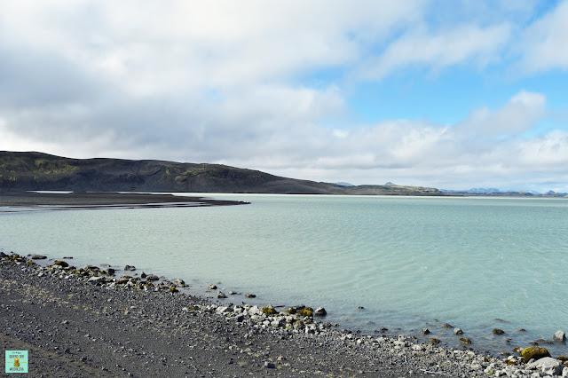 De camino a Landmannalaugar, Islandia