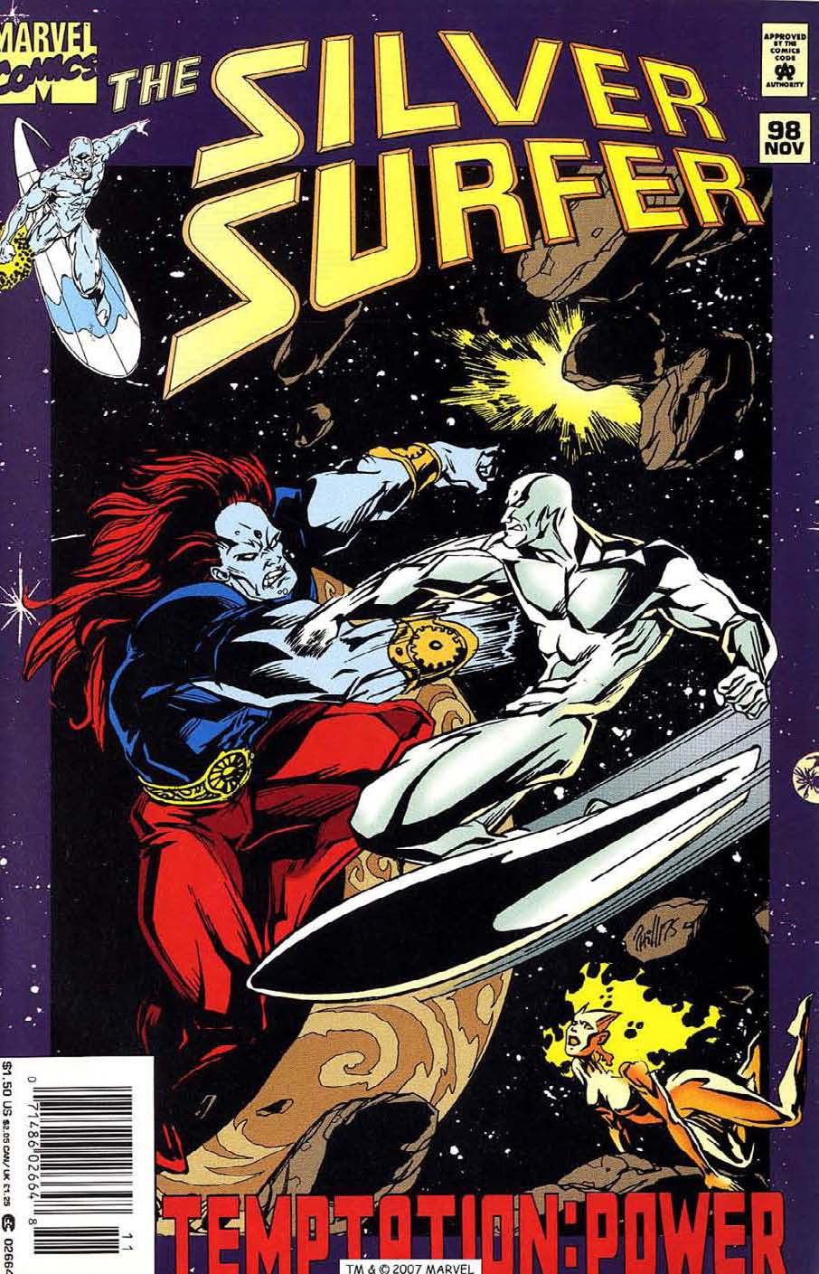 Read online Silver Surfer (1987) comic -  Issue #98 - 1