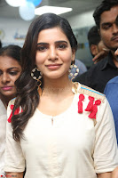 Samantha Ruth Prabhu Smiling Beauty in White Dress Launches VCare Clinic 15 June 2017 048.JPG