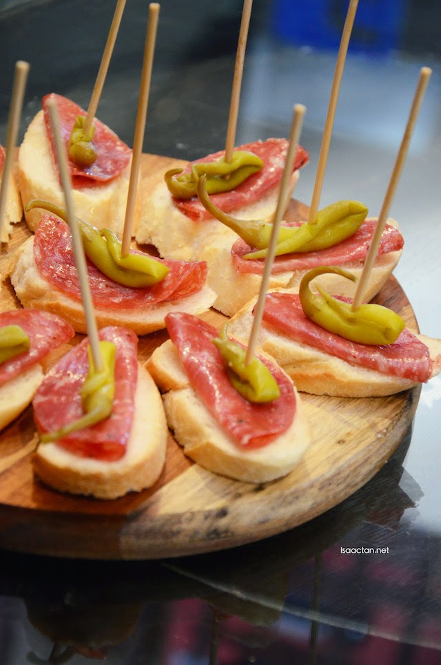 Another one of the delectable pintxos