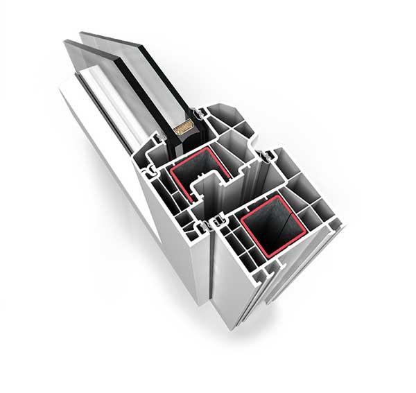 sistema domus ventanas PVC Zaragoza