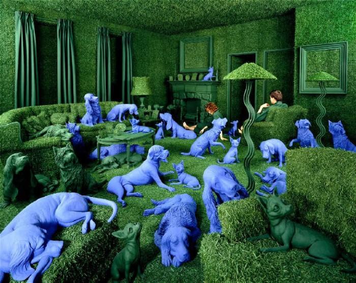 Sandy Skoglund. Баланс между фантазией и реальностью 15