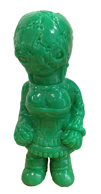 Designer Con 2012 Exclusive Green Unpainted Lady Vengeance by Jay222