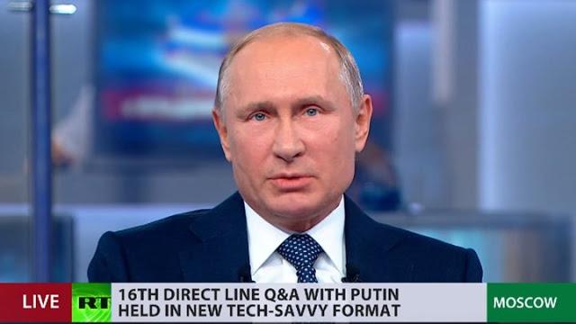 Τι απάντησε ο Πούτιν για το ενδεχόμενο ενός Τρίτου Παγκοσμίου Πολέμου – Βίντεο