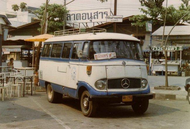 Thailand - Chiang Mai Mercedes Benz O319 1986