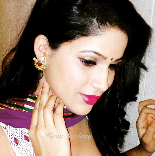 Top Indian fashion and lifestyle blog: Telugu actress Lavanya in an