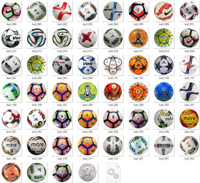PES 2017 Ballpack v2 by danyy77