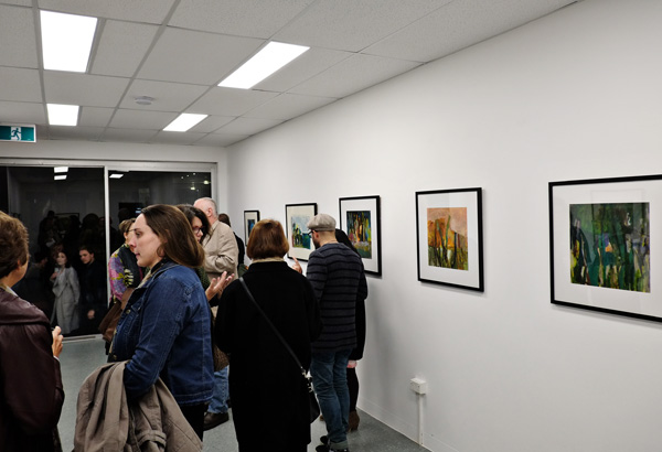 Gallery view, IN VIEW - Michelle Hungerford at Stacks Projects Potts Point. Photography by Kent Johnson for Street Fashion Sydney.