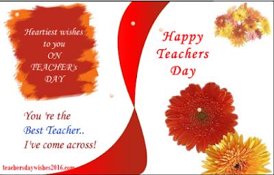 Teacher speeches