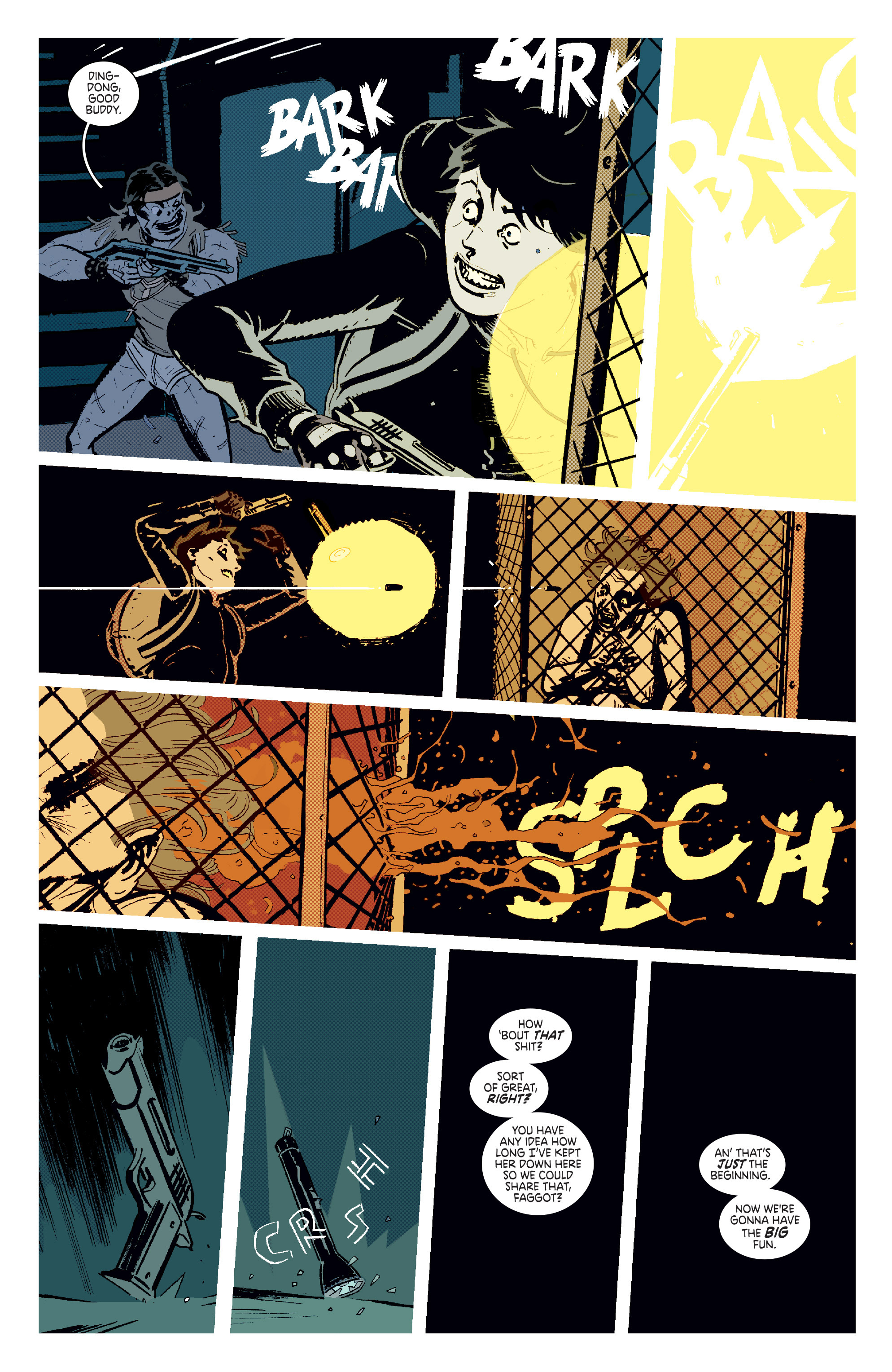 Read online Deadly Class comic -  Issue #11 - 15
