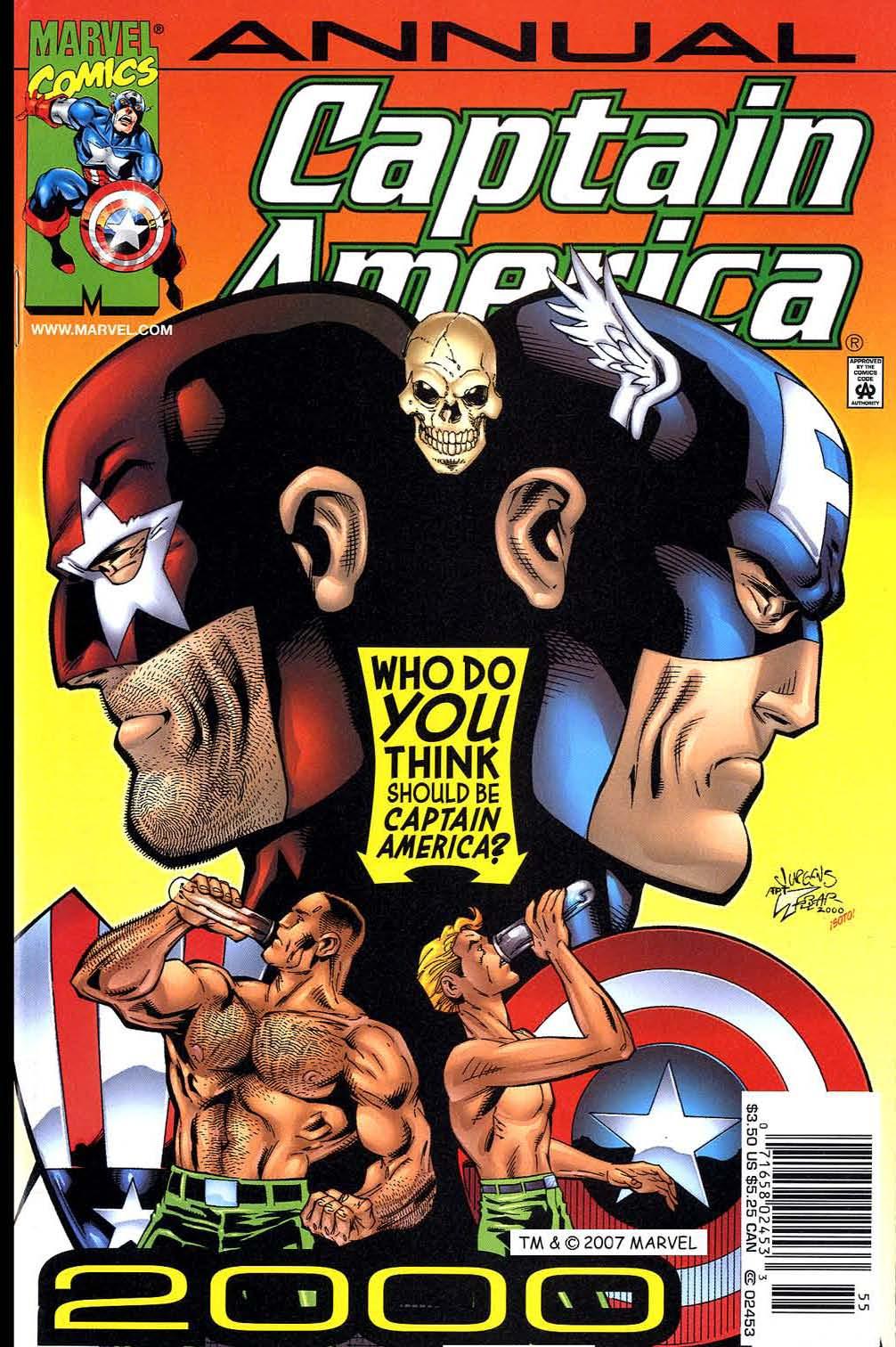 Captain America (1998) 35b Page 1