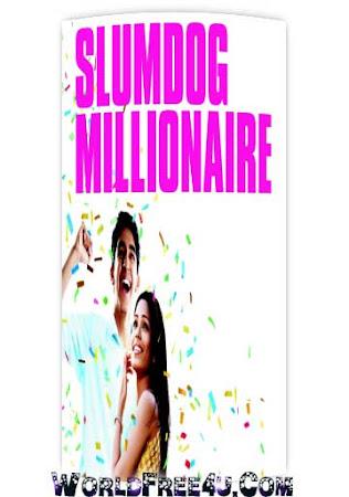 Poster Of Hindi Movie Slumdog Millionaire 2008 Full HD Movie Free Download 720P Watch Online