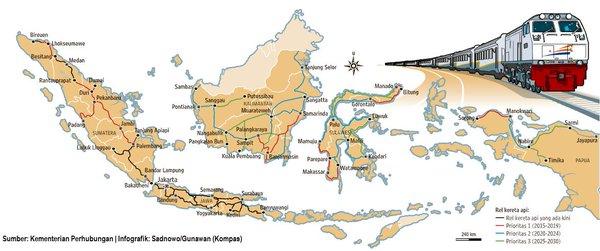 Atlas transportasi indonesia