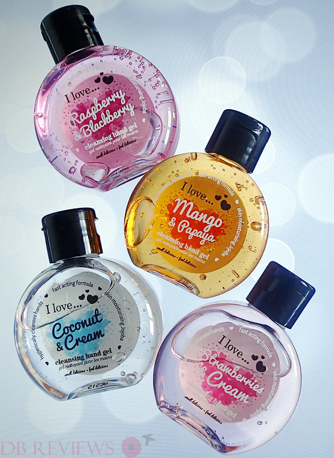 I Love..'s New Range of Cleansing Hand Gels