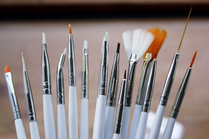 Tips For Perfect Nail Art How To Clean Your Brushes