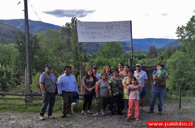 Vecinos de Currimahuida reclaman por tránsito a alta velocidad en ruta U 220