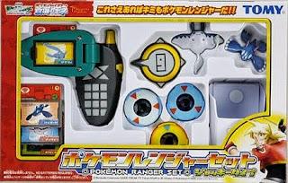 Pearl Mantine Tomy toys Pokemon ranger set Jack type