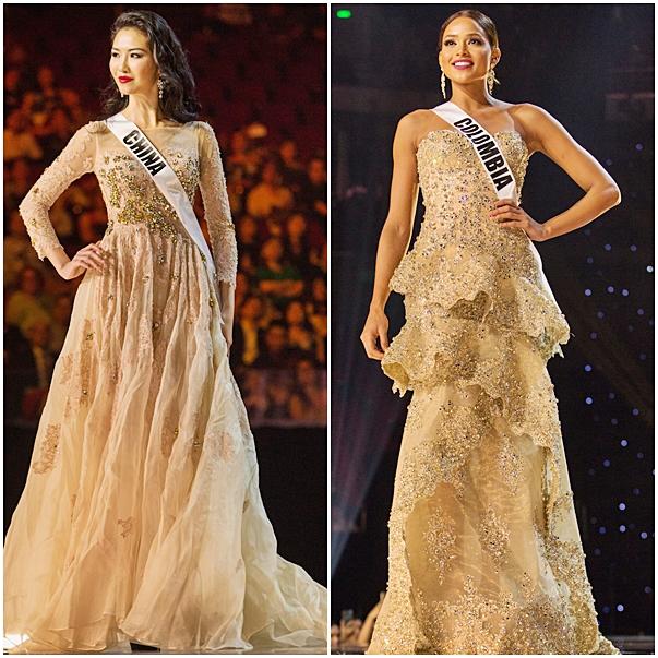 vestidos de gala Miss Universo 2017