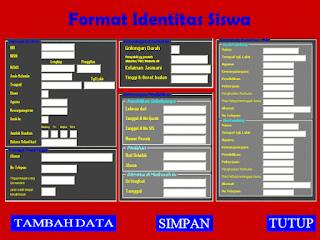 Aplikasi Format Data Siswa Otomatis dan Lengkap
