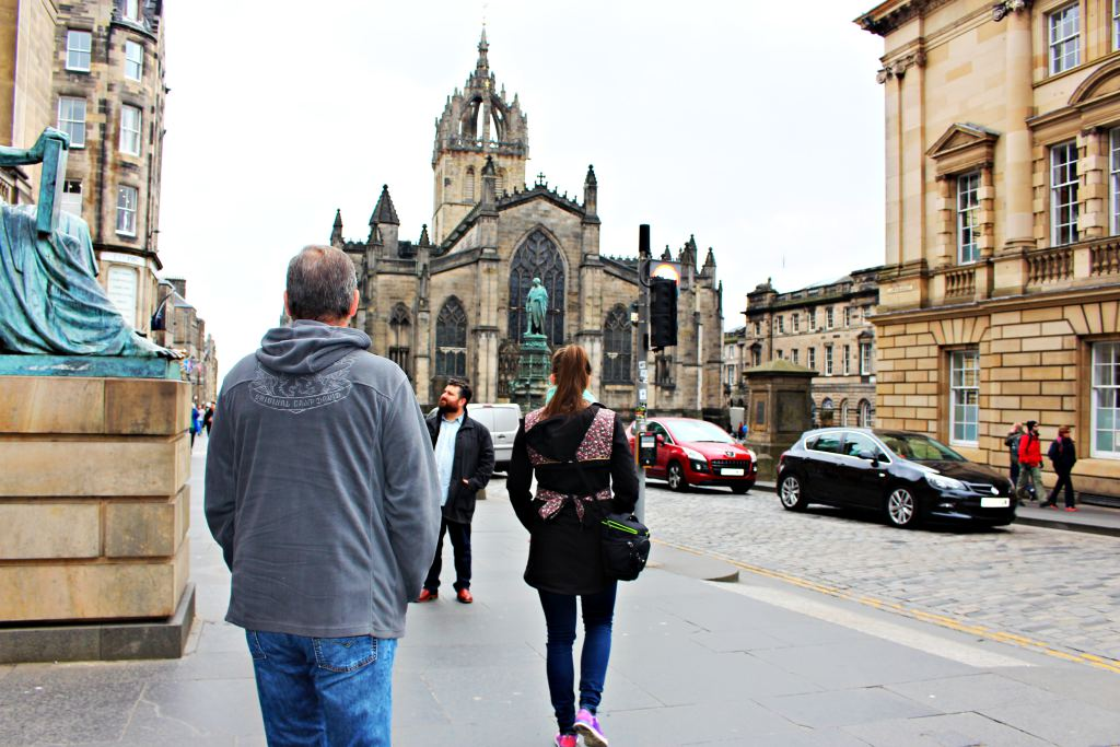 Royal Mile and Old Town of Edinburgh