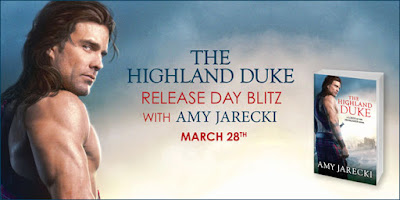 Promo + Giveaway: The Highland Duke by Amy Jarecki