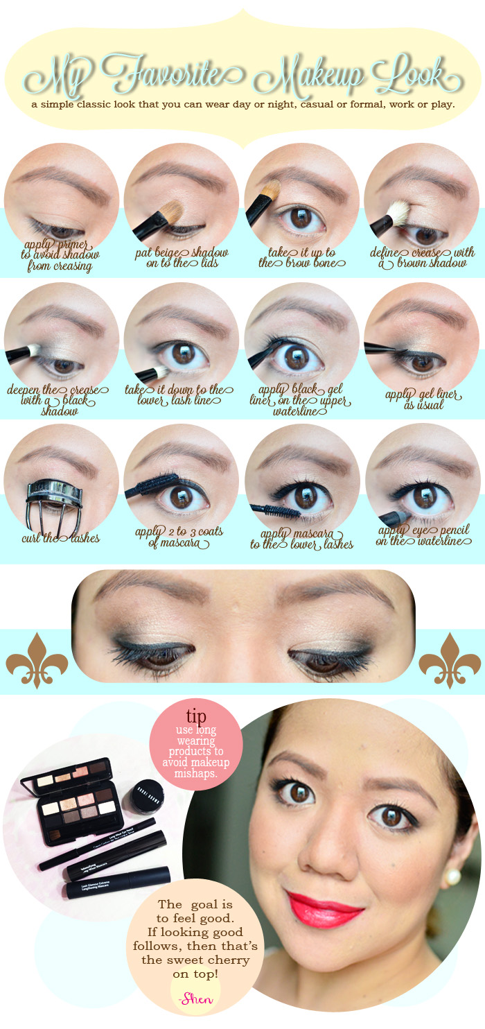 How To My Favorite 50 S Inspired Makeup Look