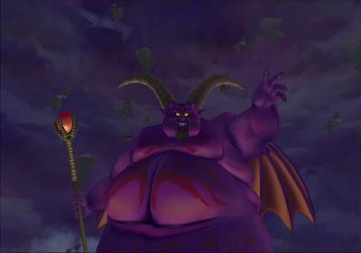 Dragon Quest VIII - El Periplo del Rey Maldito - Final Boss Rhapthorne