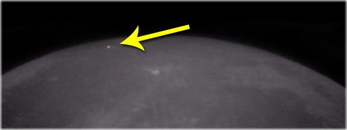 impacto lunar - descoberta no Brasil