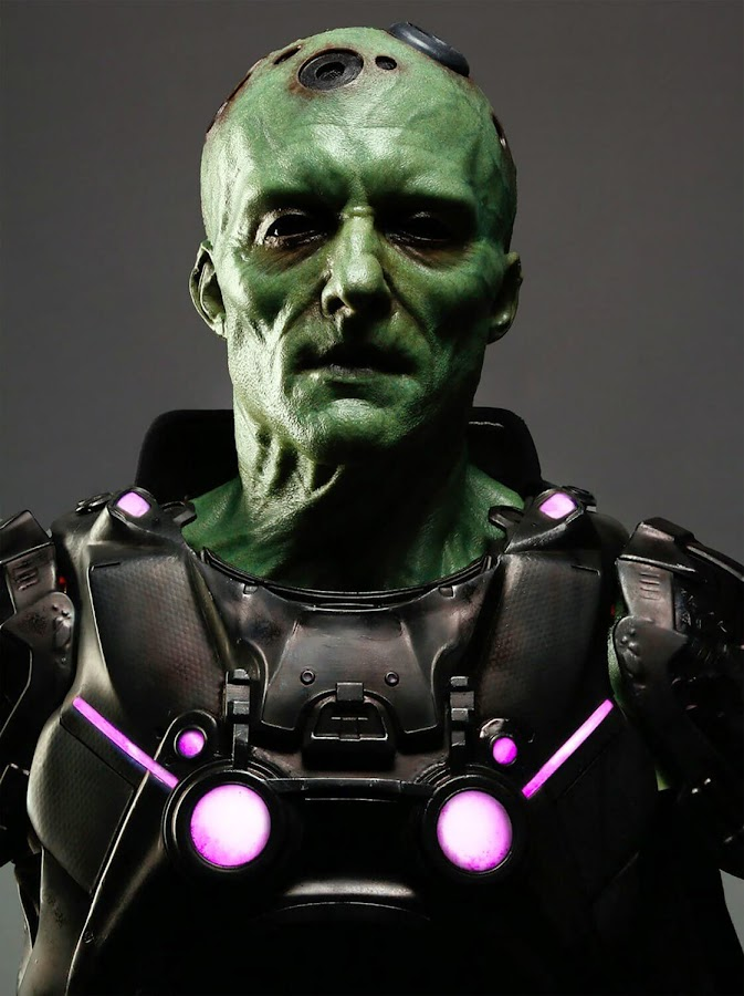 rocksteady superman game villain brainiac