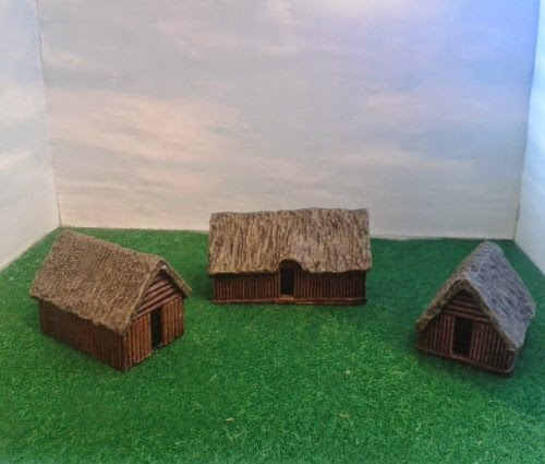 RD7 Dark Age Dwellings - Pack of 3