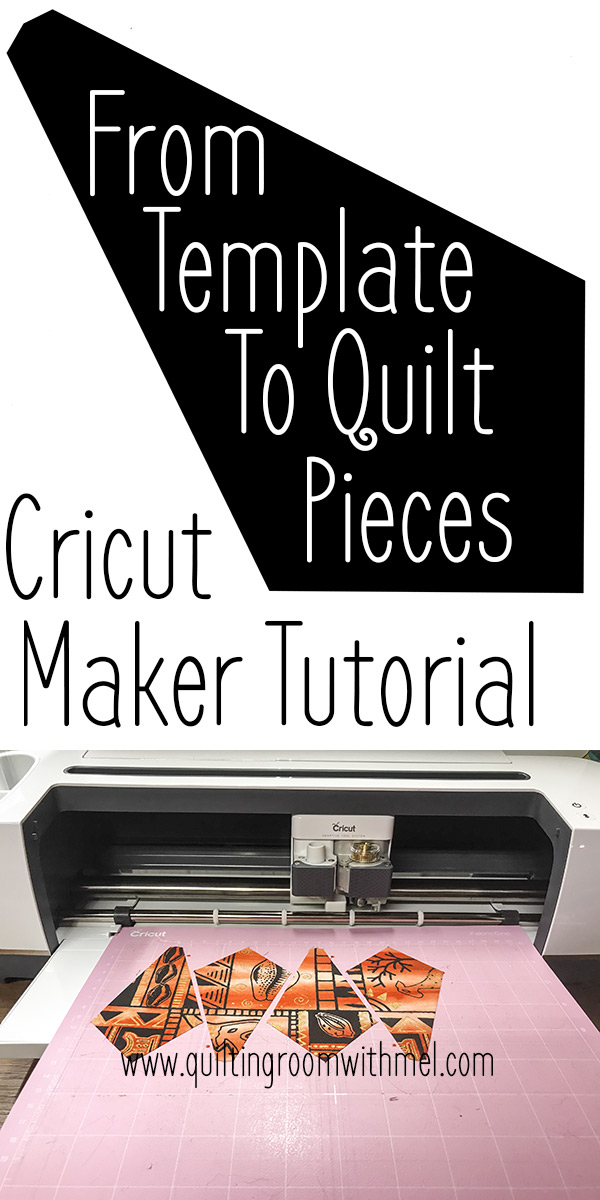 Take any paper template, import it into Cricut Designspace, and have the Cricut Maker do all the work cutting the pieces for your quilt.