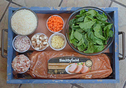 #RealFlavorRealFast Smithfield's pork loin filet are a key to quick and easy dinners.