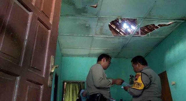 Ledakan Mako Brimob Semarang