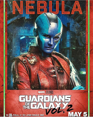 Nebula Guardians of the Galaxy Vol 2 character poster