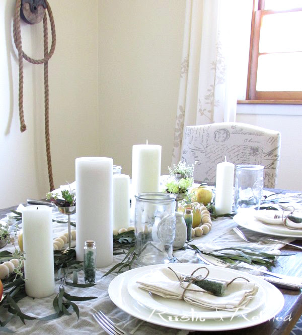 Easy summer table setting ideas