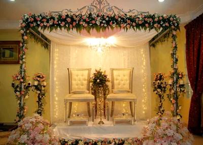 dekorasi pelaminan elegan
