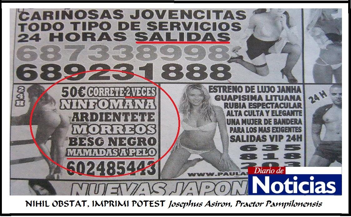 anuncios de prostitutas estereotipos en mujeres