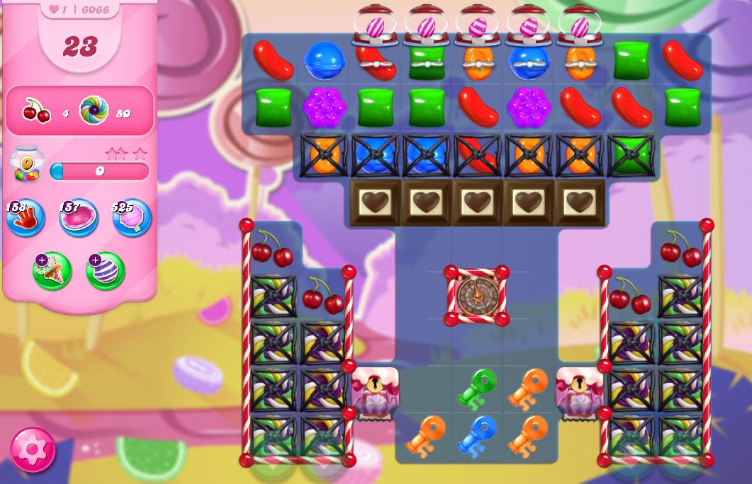 Candy Crush Saga level 6066