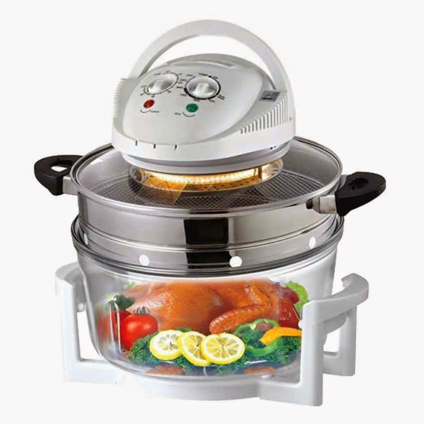 Cheap Convection Halogen Oven With Air Fryer Extension