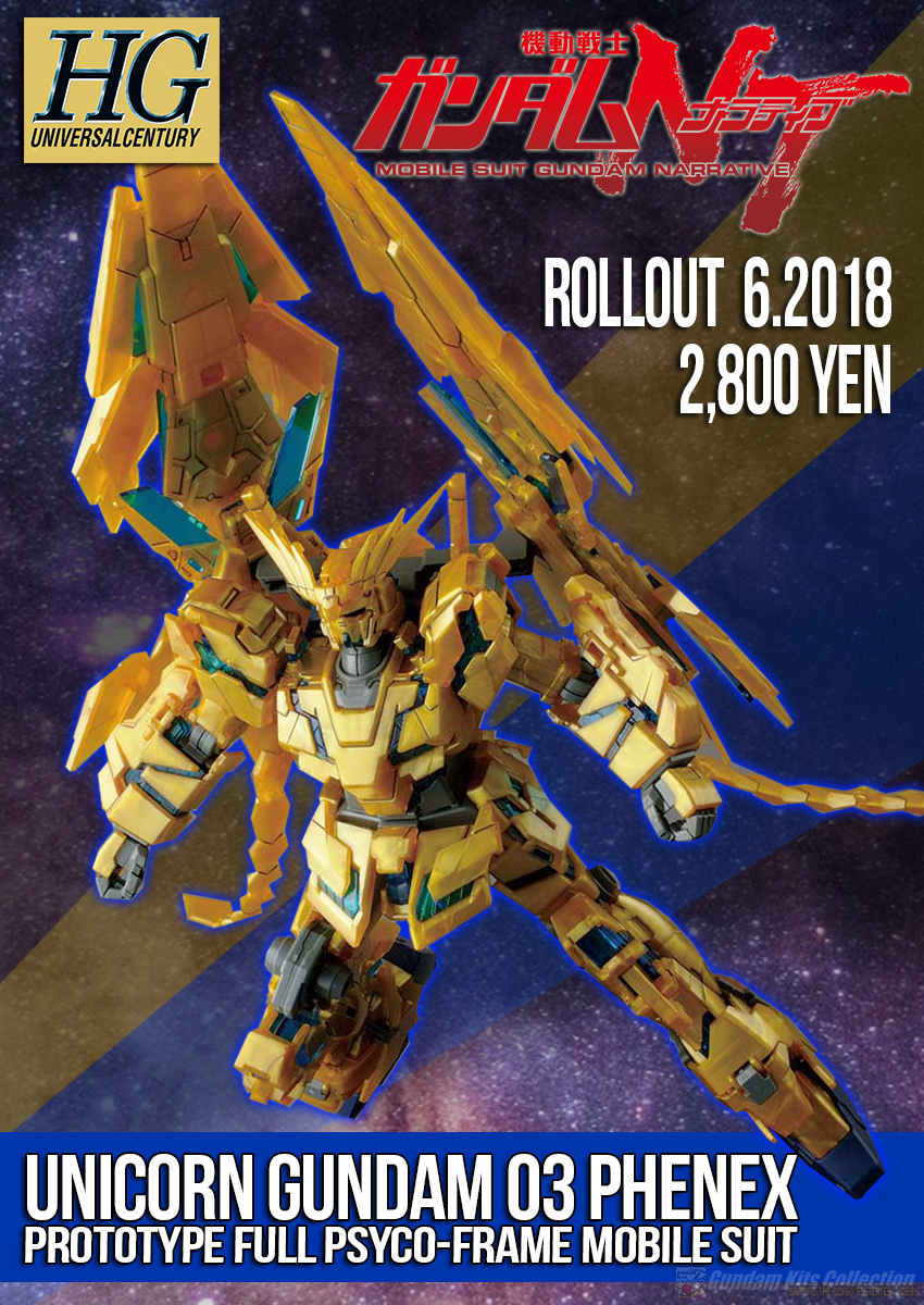HGUC 1/144 UNICORN GUNDAM 03 PHENEX