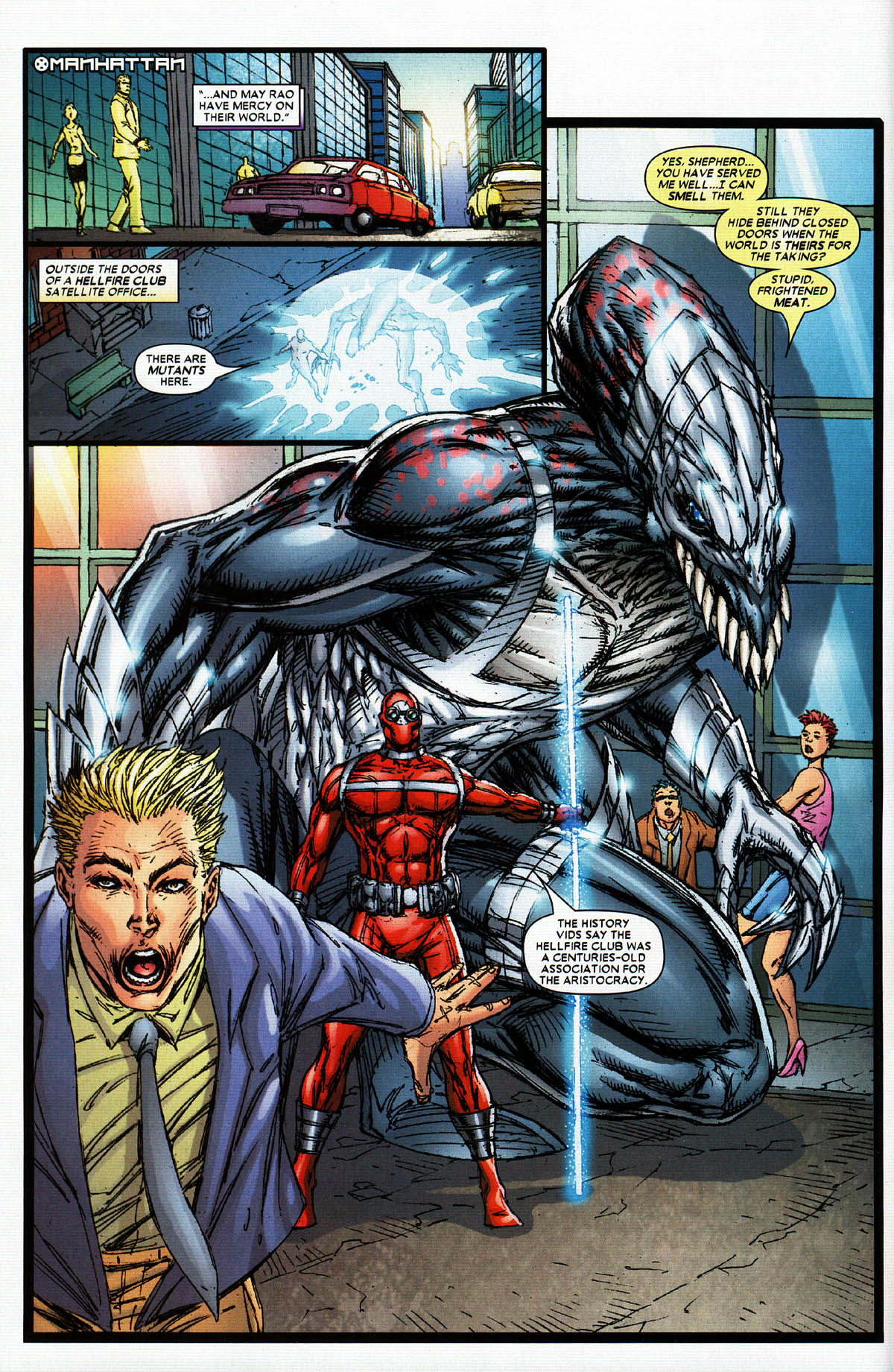 Read online X-Force (2004) comic -  Issue #5 - 9