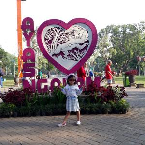 Spot Foto Menarik Di Alun-alun Kota Malang