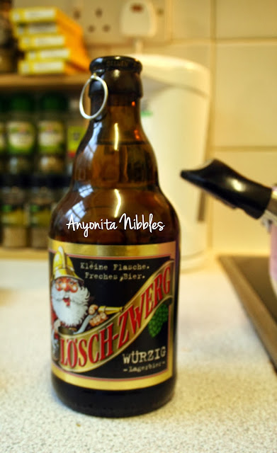 A bottle of Loesch-Zwerg Wurzig from www.anyonita-nibbles.com