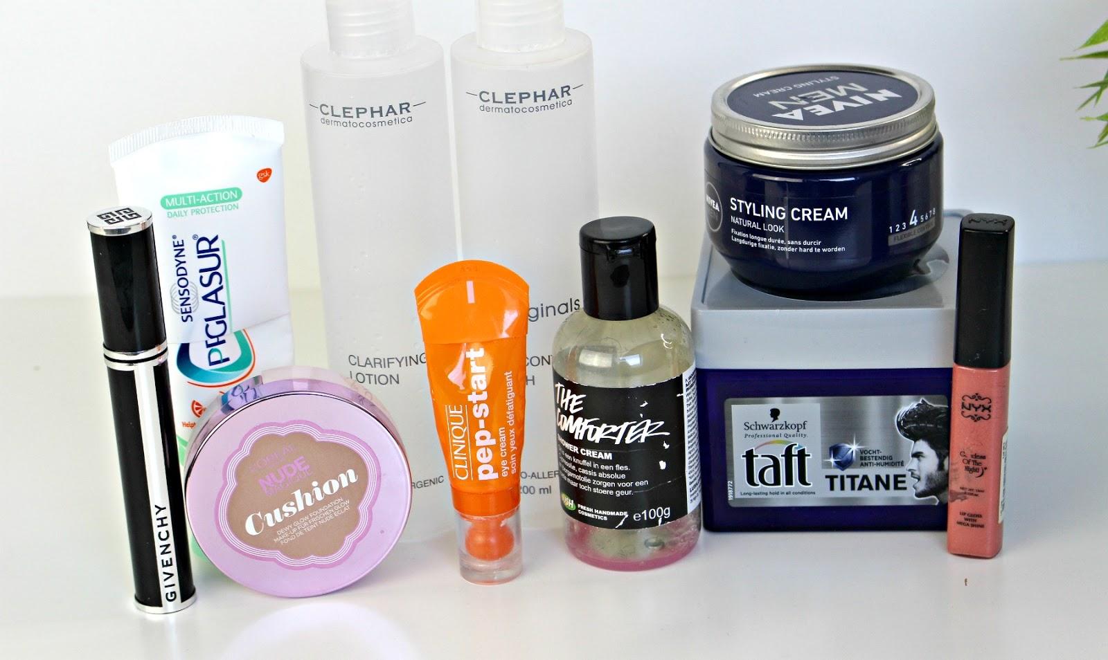 Opgemaakte beauty producten september 2016