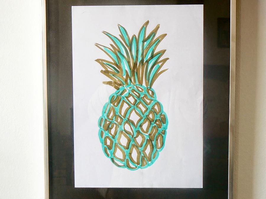 Ananas se kadro