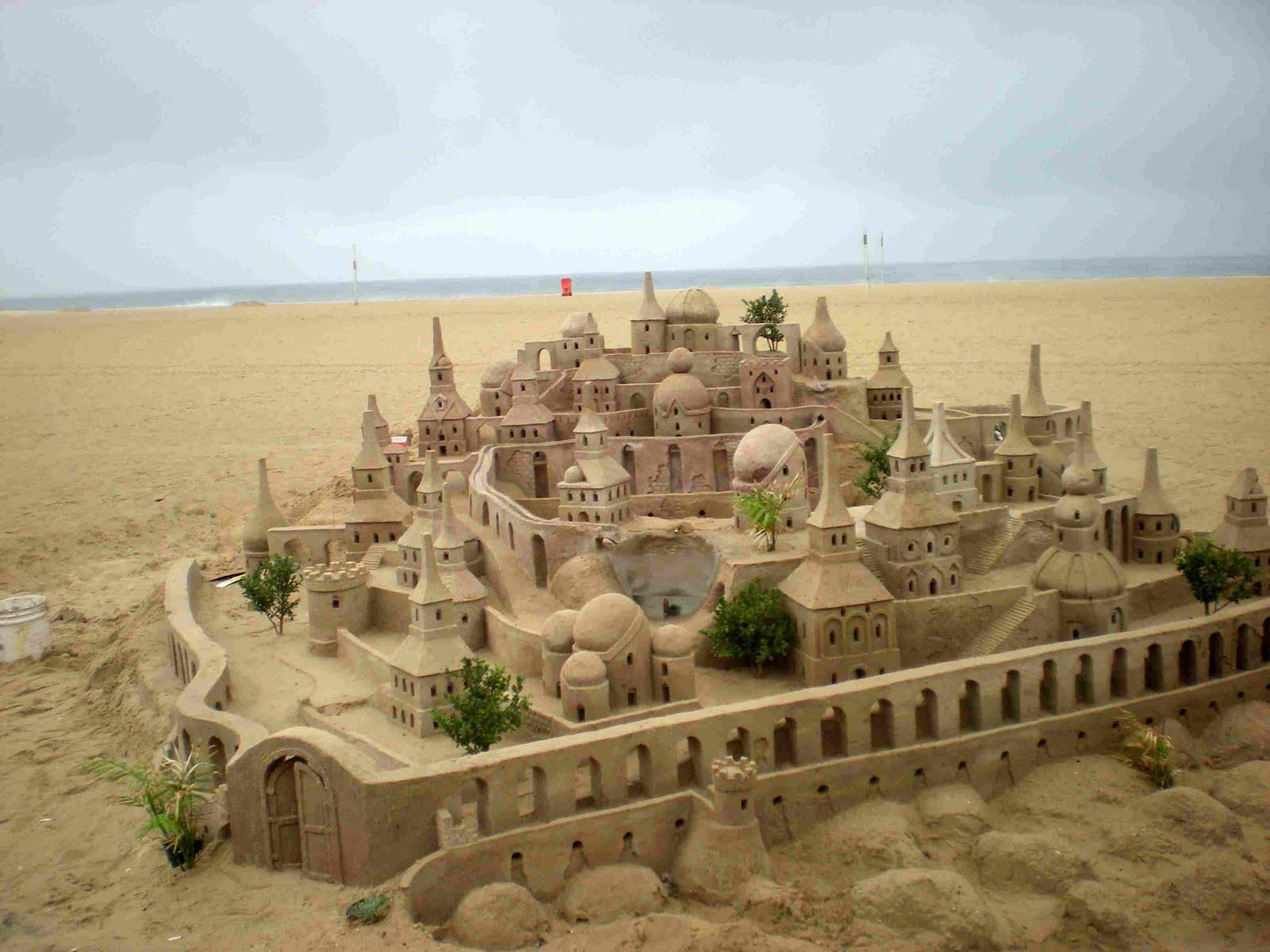 Amazing Sand Castles - Wonderful