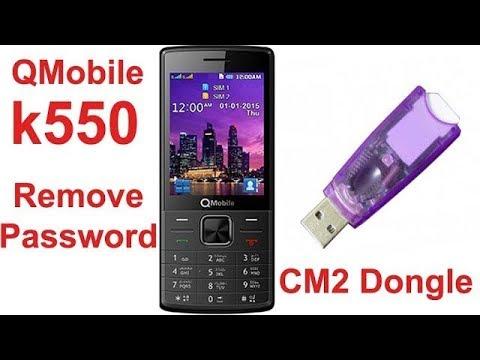 Qmobile K550 Password Remove With CM2 Dongle - GSM Hazara