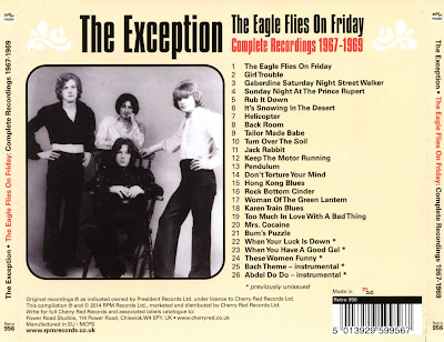 The Exception – The Eagle Flies On Friday: Complete Recordings 1967 - 1969